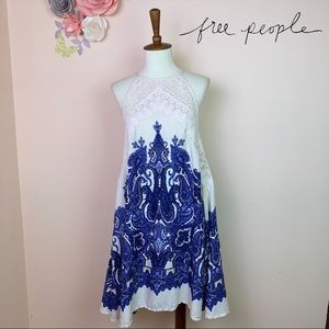 Intimately FREE PEOPLE Trapeze Slip Lace Dress